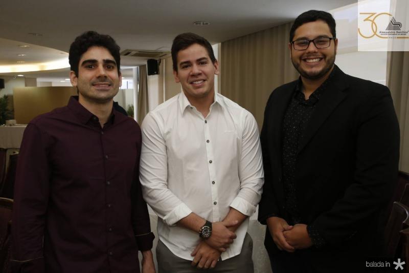 Guilherme Sabadia, Neil Alden e Pedro Holanda