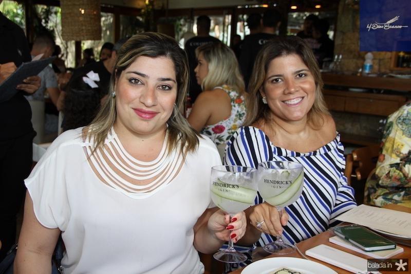 Manu Romcy e Gisela Dias Branco Vieira
