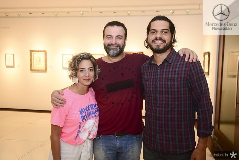 Renata Milerio, Alberto gadelha, Guga de Castro