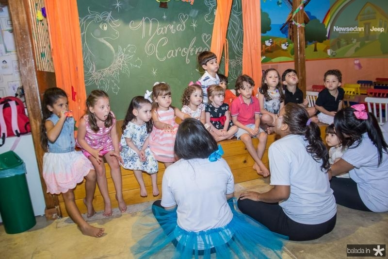 Aniversario de 3 Anos de Maria Carolina