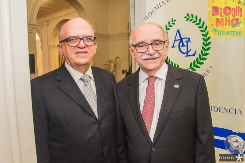 Fernando Ximenes e Ednilton Soarez