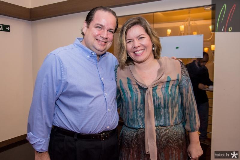Manoel Fontenele e Melissa Fontenele