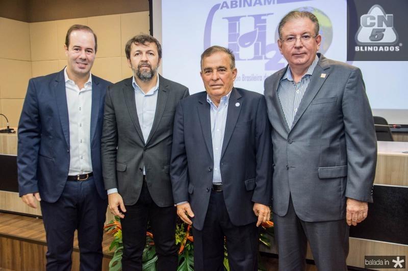 Cesar Ribeiro, Elcio Batista, Claudio Targino e Ricardo Cavalcante