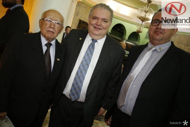 Ubiratan Aguiar, Pedro Jorge Medeiros e Telmo Sindeaux