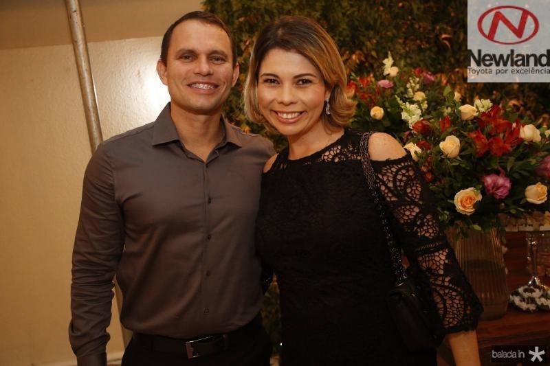 Wagner Sampaio e Renata Amaral