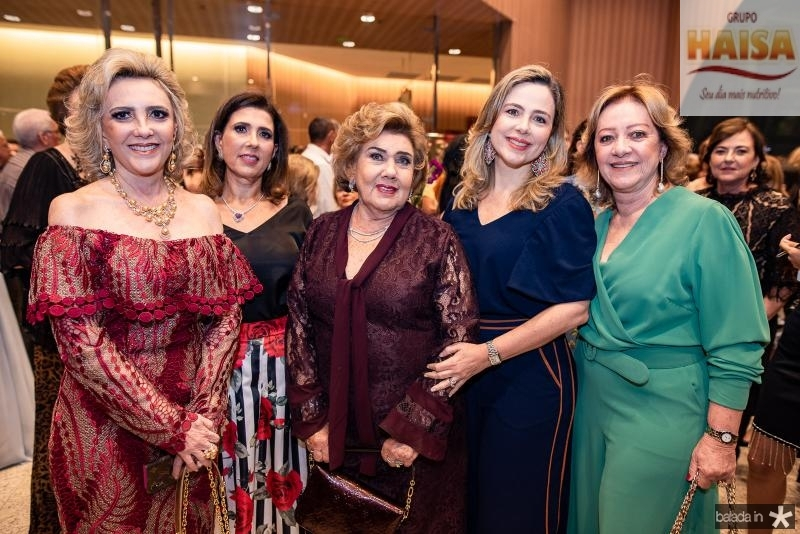 Graca da Escossia, Regina Ximenes, Consuelo Dias Branco, Suyane Dias Branco e Tania Teixeira