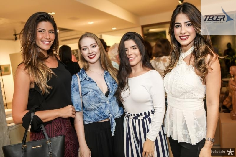 Natalia Benevides, Fernanda Garcia, Dandara Furtado e Manoela Linhares