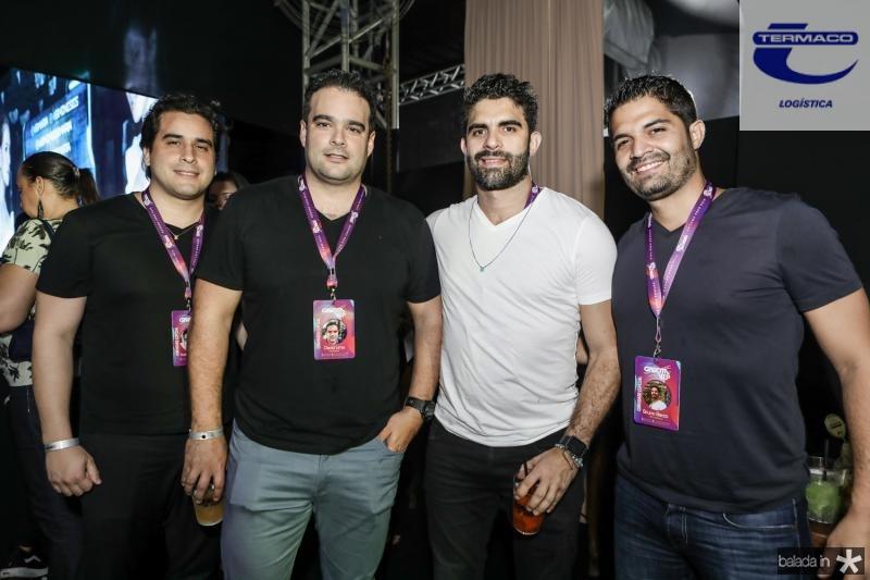 Rodrigo Furtado, Davi Lima, Elizeu e Bruno Beco