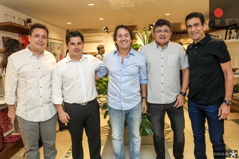 Igo Apolinario, Pompeu Vasconcelos, Rodrigo Parente, Leco Cidrao e Jose Ximenes