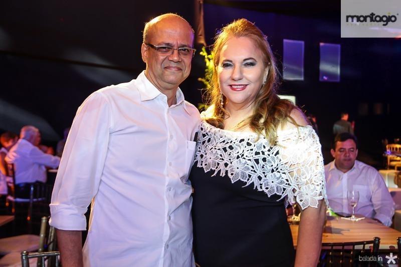 Wagner Fernandes e Luiziane Cavalcante