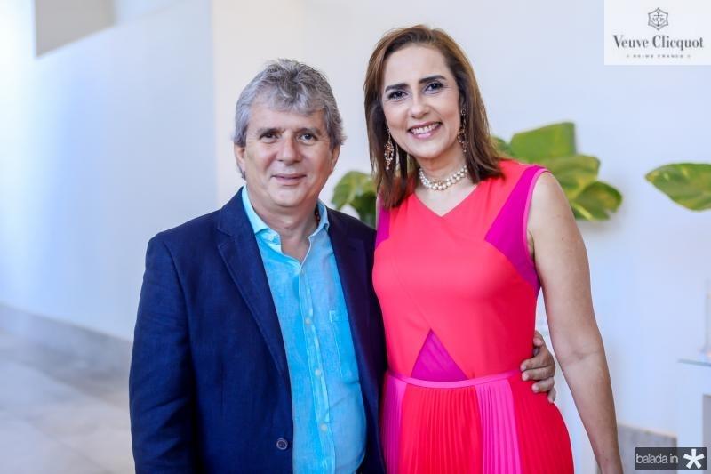 Tiburcio e Claudia Frota