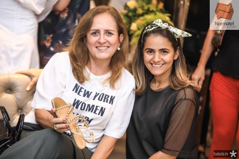Solange Bessa e Flaviana Campos