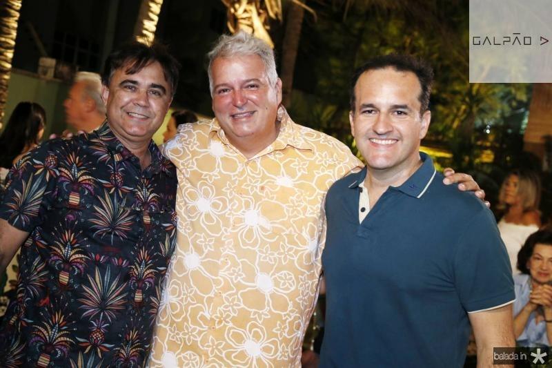 Gilberto Costa, Ricardo Camara e Emilio Guerra