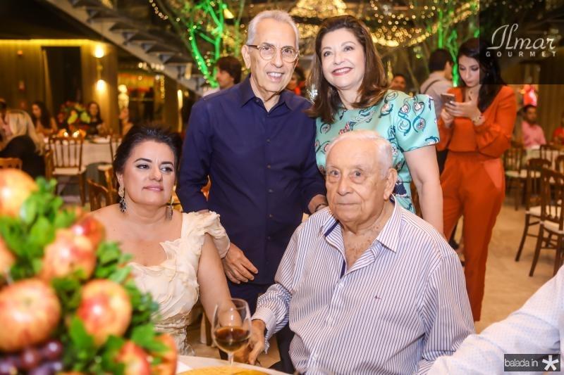 Paulo e Guirlanda Ponte, Silvana e Adauto Bezerra