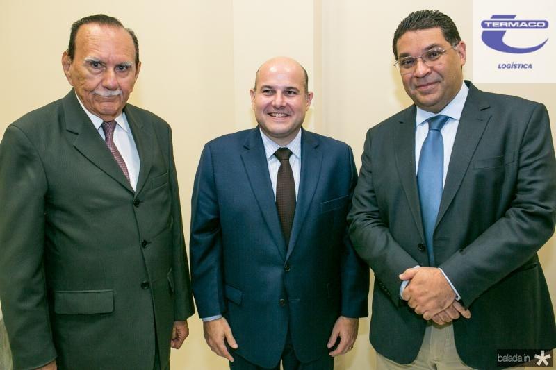 Welington Lobo, Roberto Claudio e Ricardo Teixeira