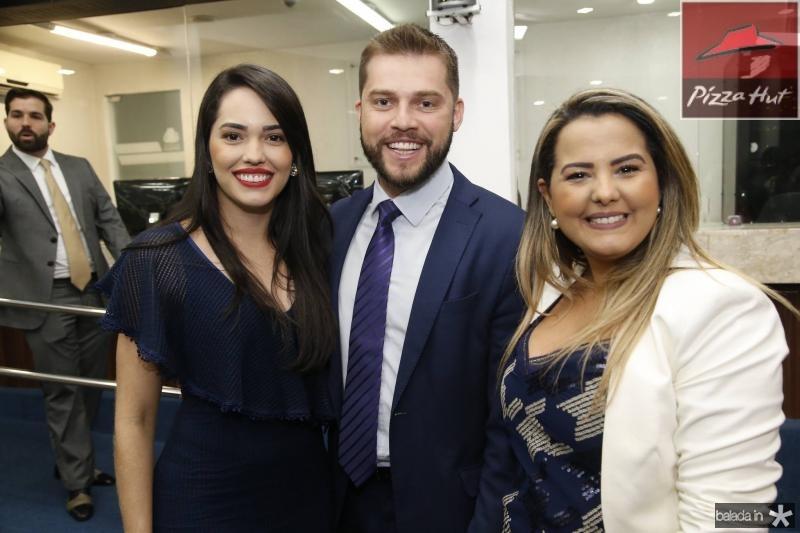 Carol Vasconcelos, Victor Pedroza e Raisa Ridia 1
