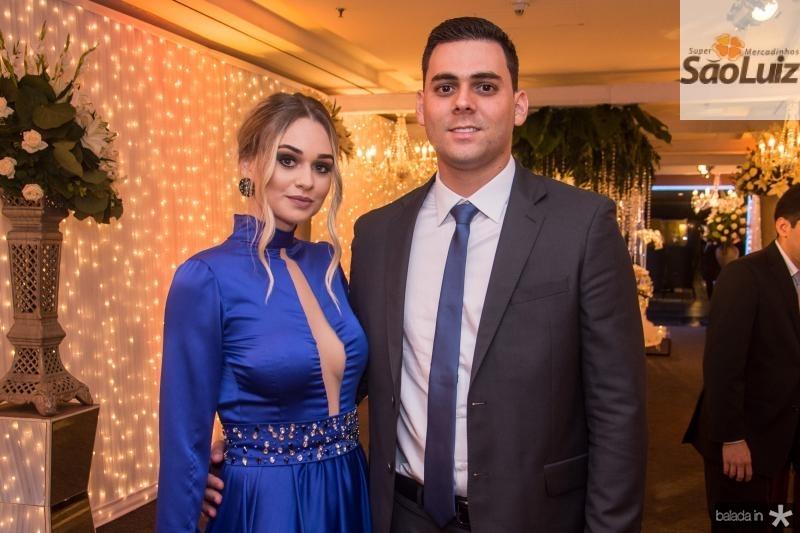 Caroline Rocha e Arquelal Goncalves