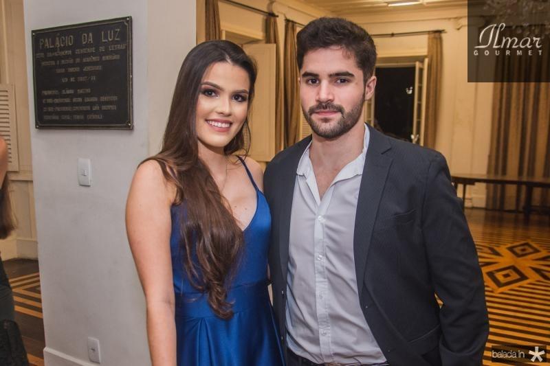 Isabel leite e Vitor Lopes