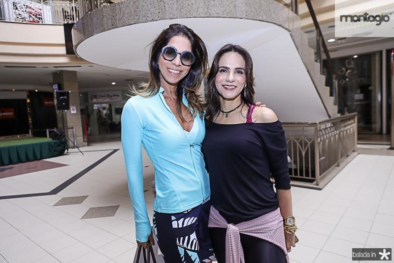 Synara Leal e Sandra Rolim