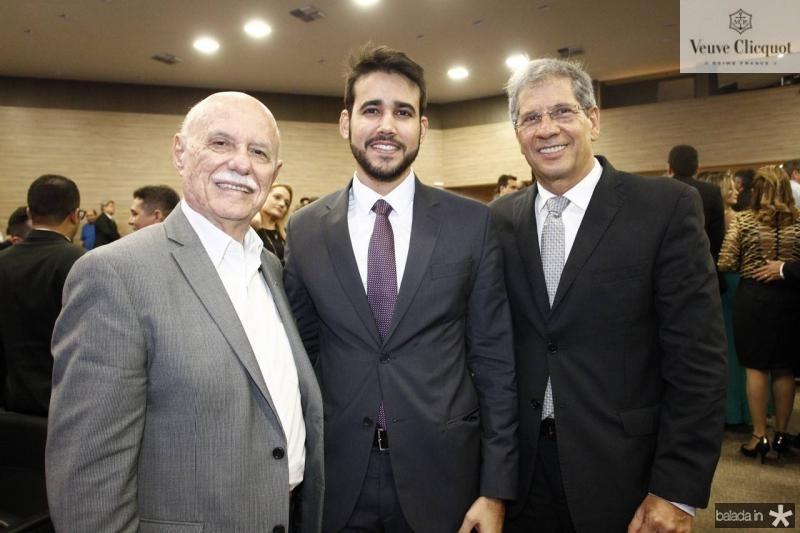 Freitas Cordeiro, Cabral Neto e Severino Ramalho Neto