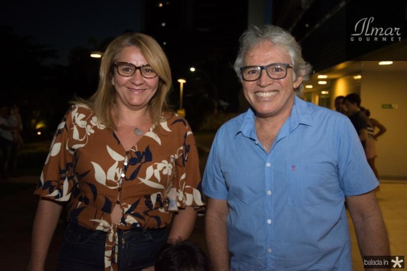 Luiza Mota e Rogerio Teixeira
