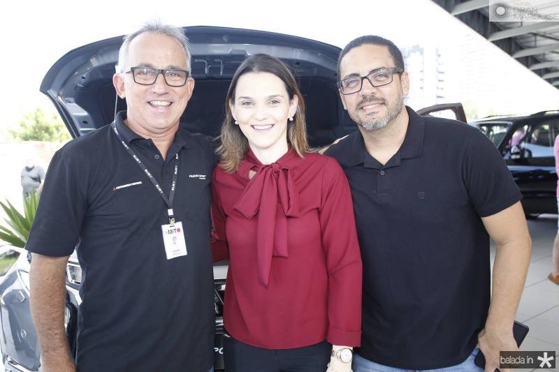 Cesar Giosef, Refaela Cordeiro e Richard Araujo
