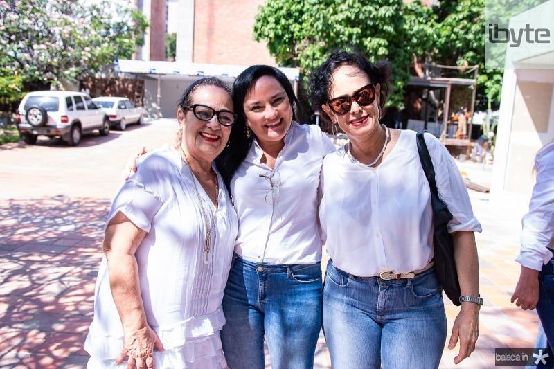 Nereide Figueiredo, Kelly Teixeira e Kacy Saldanha
