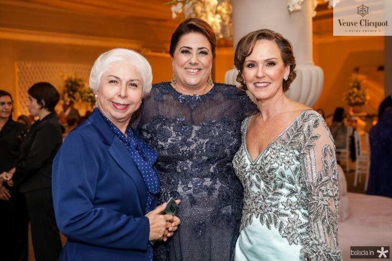 Alodia Guimaraes, Ana Melo e Carla Sleiman