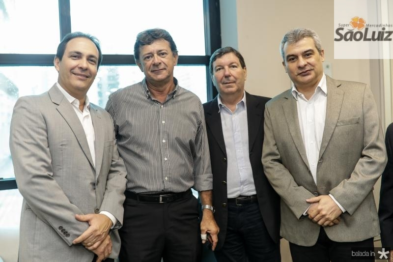 Carlos Queiroz, Tarcisio Vieira, Heitor Studart e Marco Prado