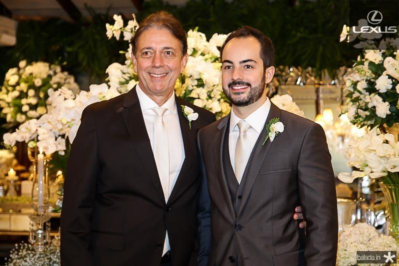 Afranio e Felipe Barreira