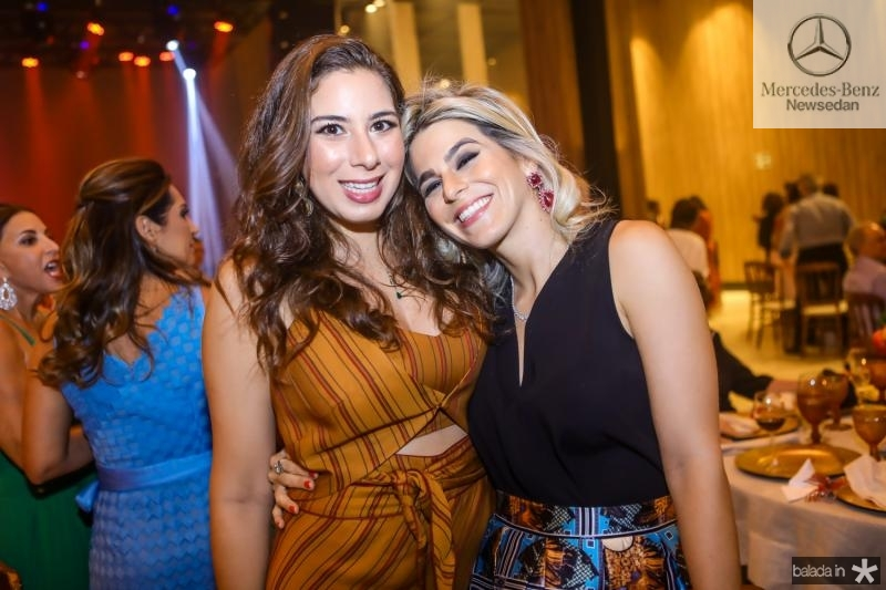 Beatriz Bezerra e Amanda Vidal