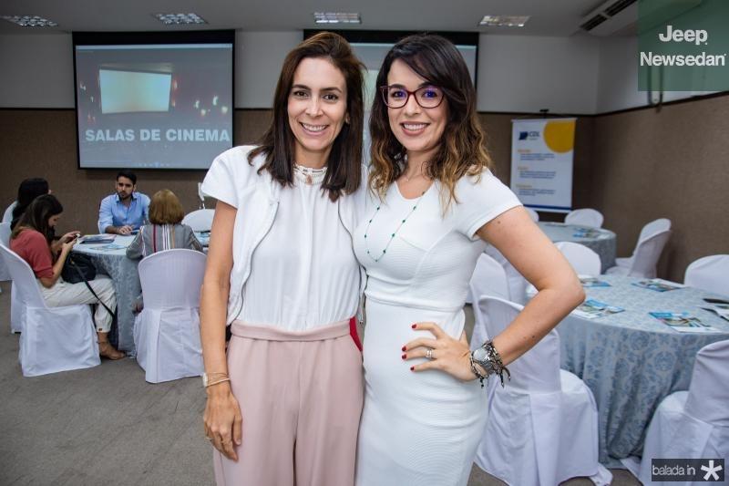 Gisele Studart e Rafaela Castro