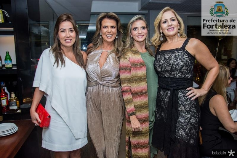 Ana Vladia Barreira, Alexandra Pinto, Michele Aragao e Marcia Peixoto