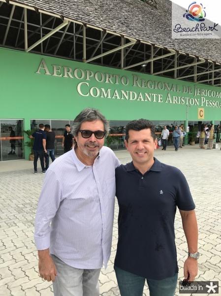 Totonho Laprovitera e Erick Vasconcelos