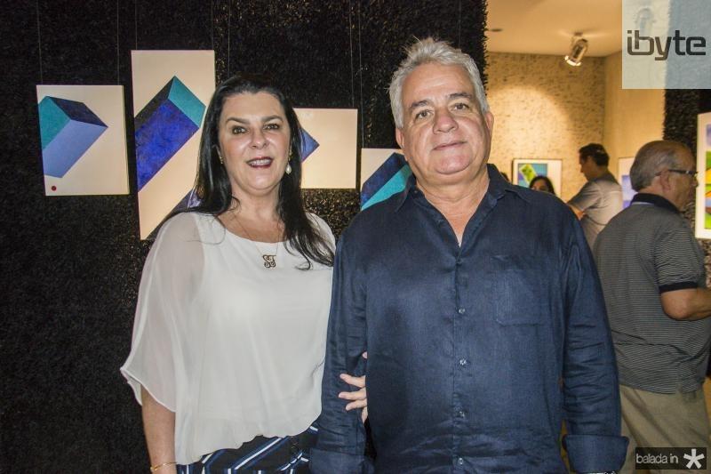 Silvia e Ciro Fiuza