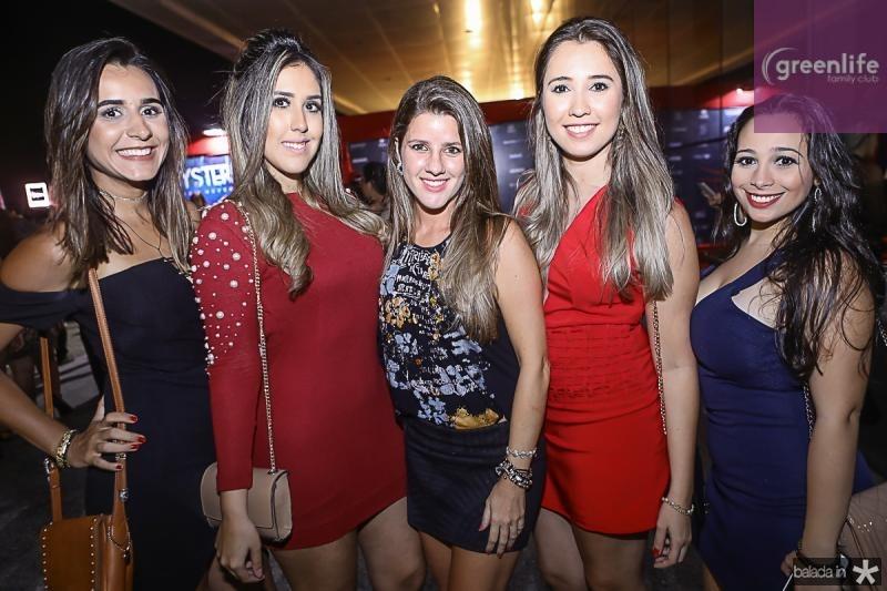 Naira Lopes, Fernanda Lima, Ana Matos, Roberta Aragao e Talita Saraiva