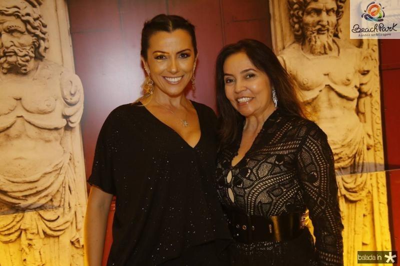 Nara Oliveira e Leila Dalmeida