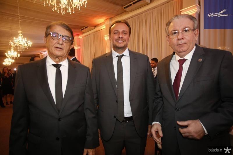 Arialdo Pinho, Adriano Nogueira e Ricardo Cavalcante