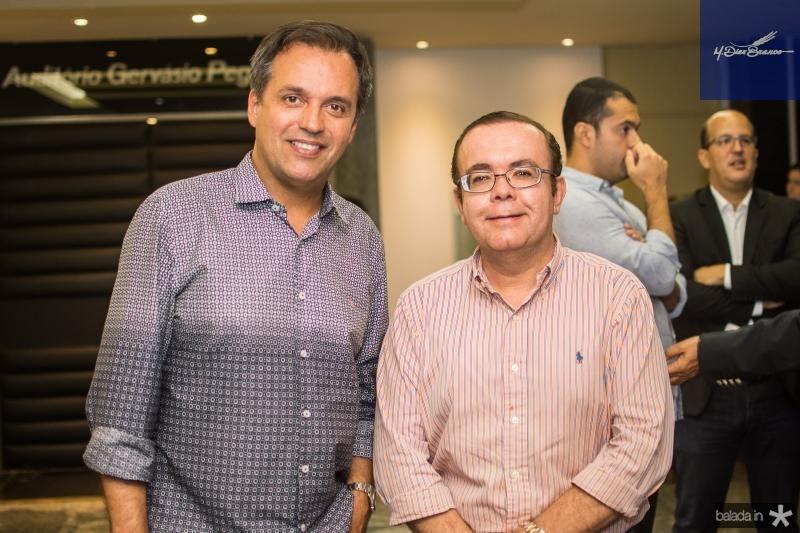Fernando Novais e Alessandro Belchior