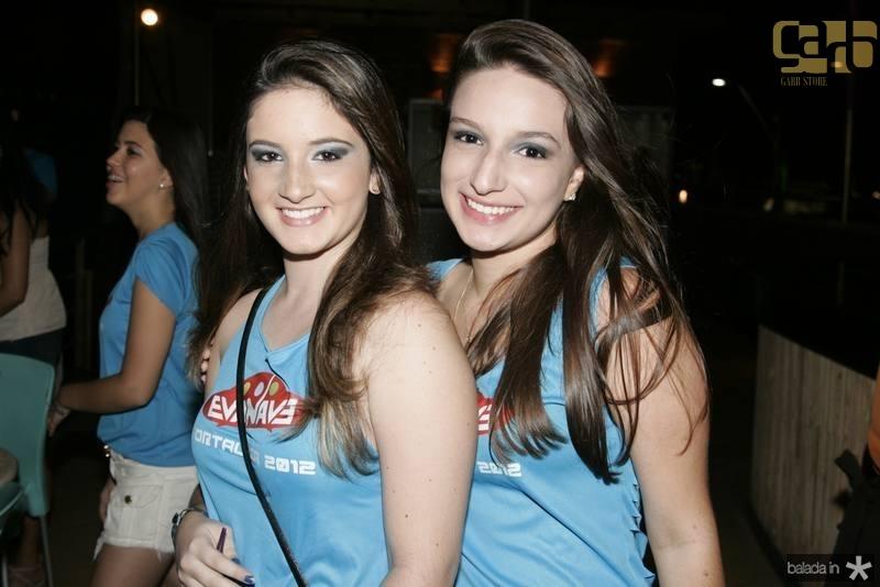 Rayanne Sistina e Vitoria Rocha