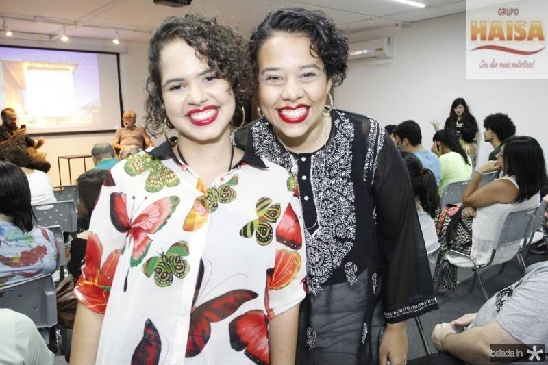 Elisan Frota e Mariana Parente