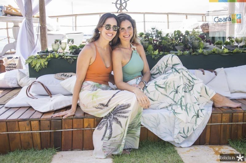 Larissa Send e Paula Pinto