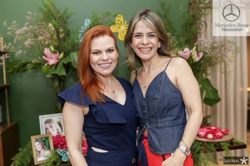Adriana Praxedes e Carla Nogueira