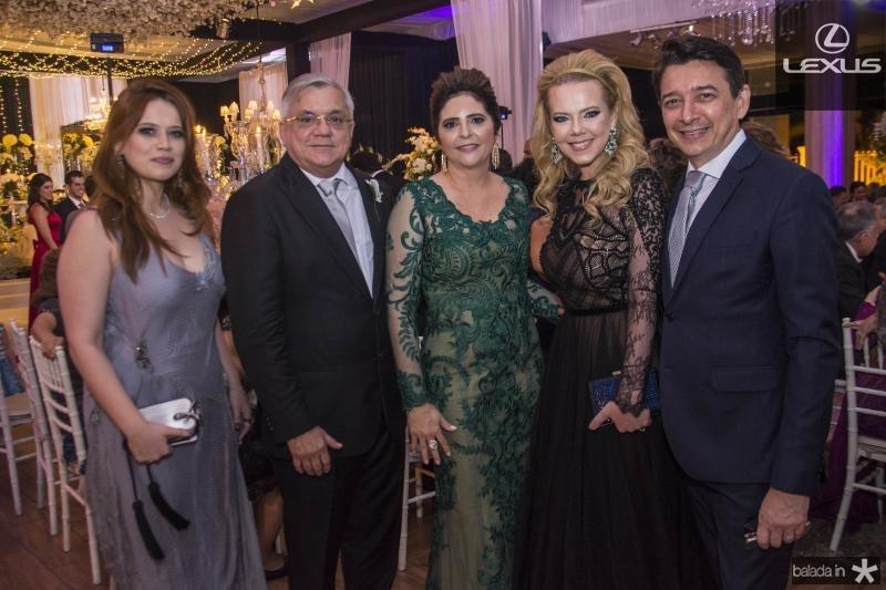 Anik Mourao, Urubatan Romero, Ines Gladstone, Branca Mourao e Racine Mourao