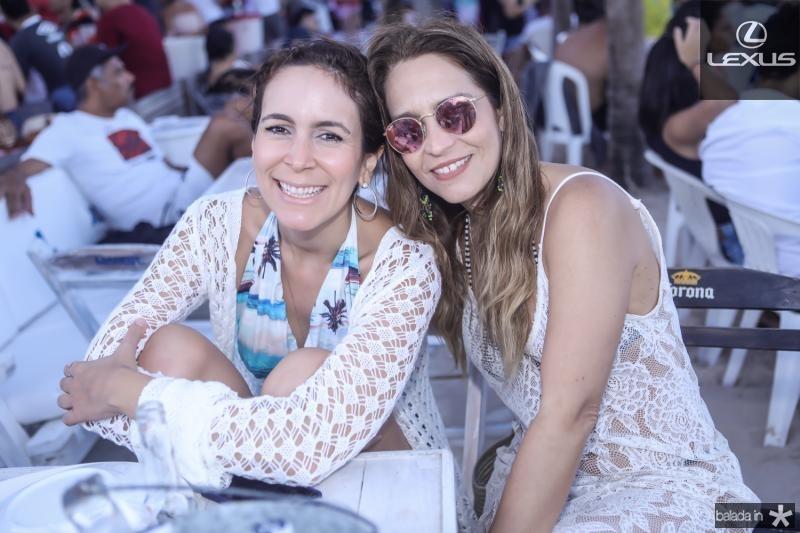 Gisele Studart e Fabiola Fonseca