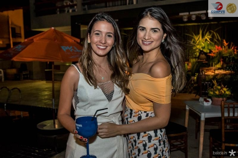 Luana Gadelha e Milena Patricio