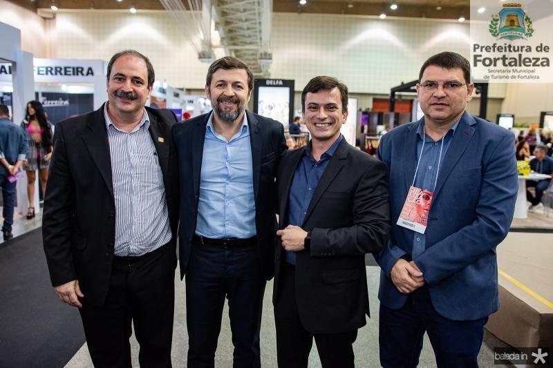 Paulo Andre Holanda, Elcio Batista, Rafael Cabral e Sergio Lopes