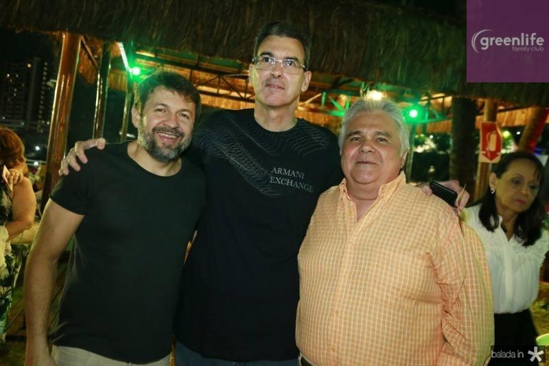 Elcio Batista, Geraldo Luciano e Moises Pimentel