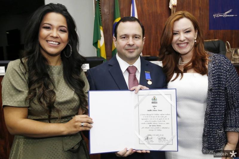 Priscila Costa, Igor e Aline Barroso 1