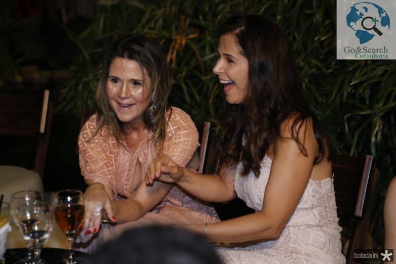 Camille Cidrao e Edriana Nunes